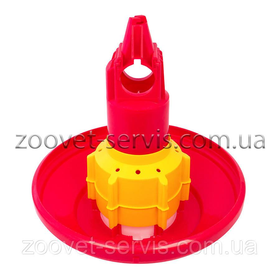 Автоматическая кормушка для петухов и родительского стада Gio T/F без перегородок (высокий конус) CODAF Италия