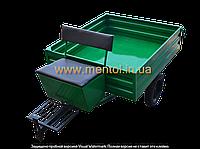 Прицеп к мотоблоку ZV ПМ-300 (1,3х1,15 м, с колесами)