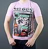 Модная мужская легкая футболка