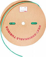 Трубка термоусаживаемая e.termo.stand.roll.3.15.green 3/15 200м зеленая