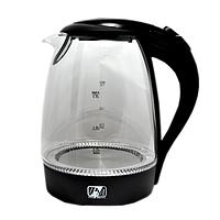 Чайник электрический стеклянный Promotec PM-810 1,7 л 2200W Black 112810 TV, КОД: 2381061