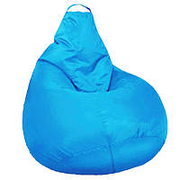 Кресло мешок SOFTLAND Груша XXL 130х100 см Голубой SFLD46 TV, КОД: 1310513