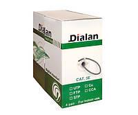 Витая пара Dialan UTP cat5E, 4х2х0,48мм
