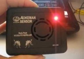 Ультразвуковий портативний відлякувач комарів Aokeman Body-Pack UltraSonic Mosquito Repeller