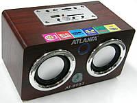 Колонка портативная  Atlanfa AT-8953 (ПДУ, USB, SD)