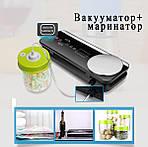 Вакууматор упаковщик еды с пакетами Wi-simple VS6680 со встроенными весами. Вакуумный упаковщик для дома, фото 4