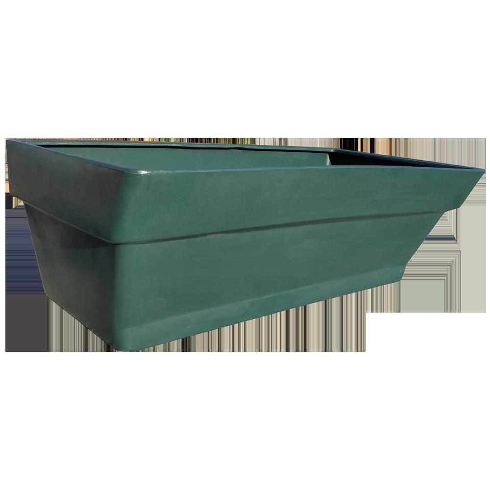 Грядка пластиковая 210 л темно-зелёная