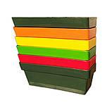 Грядка пластиковая 210 л темно-зелёная, фото 7