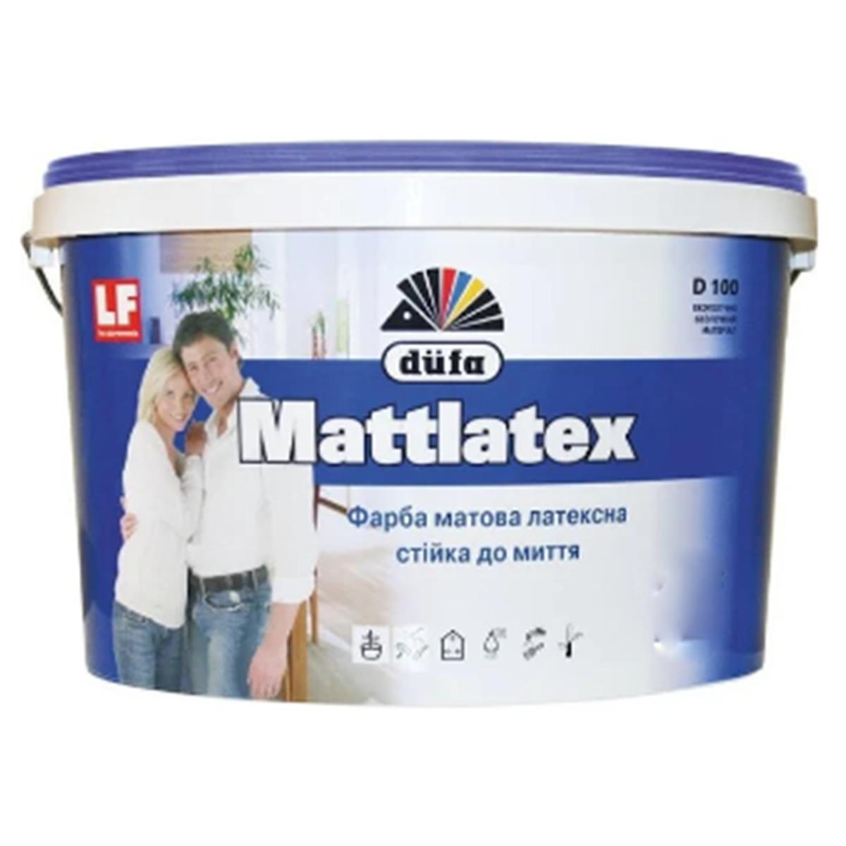 Интерьерная краска Dufa Mattlatex D100 матовая 5л