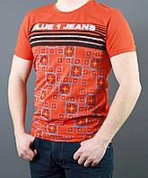 Легкая модная хлопковая футболка