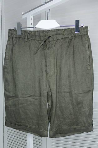 Шорты мужские Black Kith хаки брендовые Трикотажные, фото 2