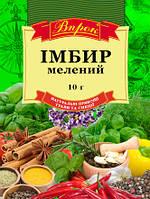 "Имбирь молотый 10 г  ТМ ""Впрок"""