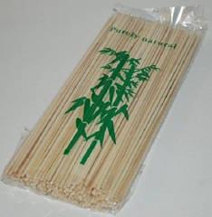 Бамбуковые палочки для шашлыка/закусок 20 см./200 шт.