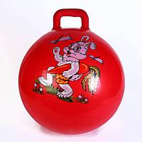 Игрушка Прыгун Мяч d40 см красный