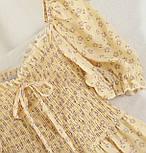 Летнее платье из шифона в цветочный принт с резинкой на талии (р. 42-44) 68032762, фото 4