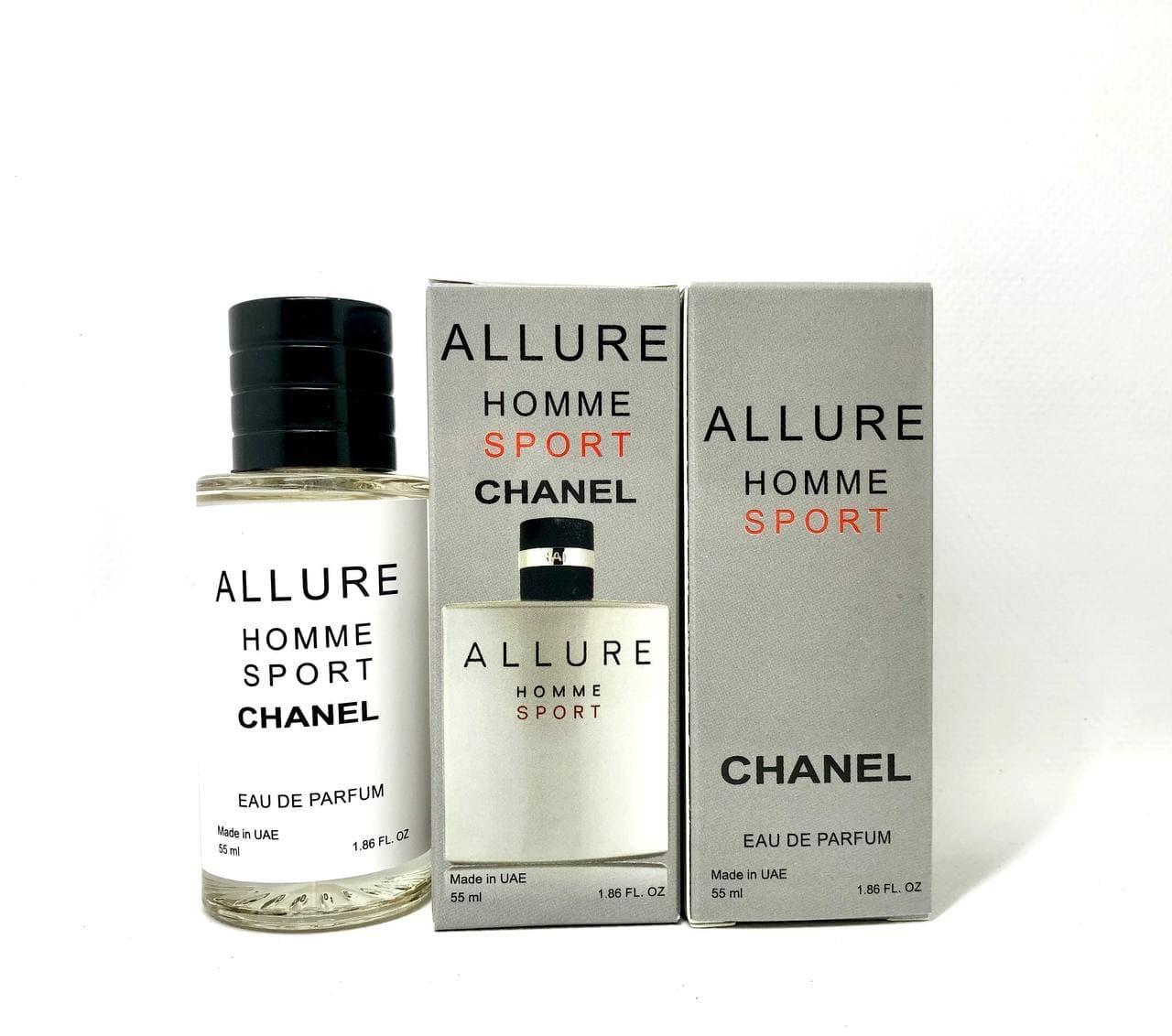 Парфюмированная вода мужская Chanel Allure Homme Sport (Шанель Алюр Хом Спорт) 55 мл