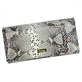 Женский кожаный кошелек Patrizia Piu SN-122 RFID Светло-серый