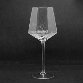 Оригинальный бокал из прозрачного стекла 500 мл для кафе и ресторана