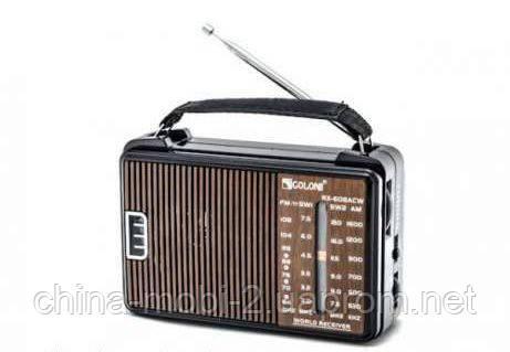 Портативное радио приемник GOLON RX-608ACW