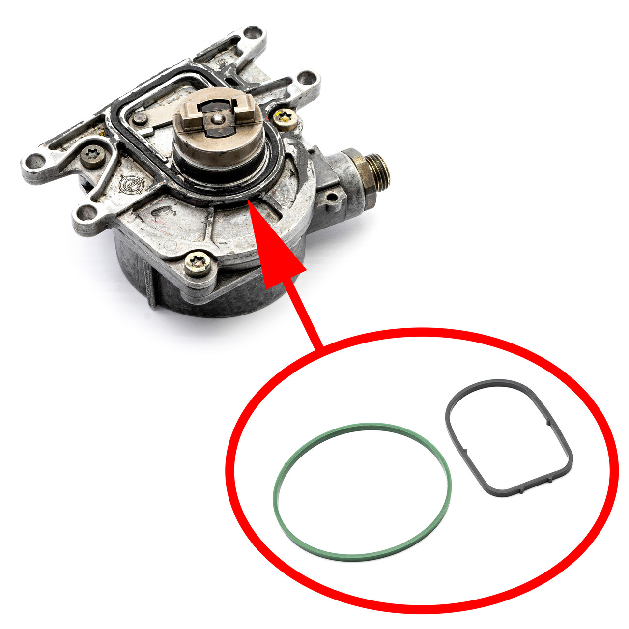 Ремкомплект вакуумного насоса Opel 2.2 CDTI D223L Y22DTH 90531395 90528598 545708