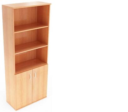 Офисный шкаф для документов (720х1823) комплект Б-601+Б703