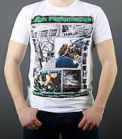 Хлопковая мужская футболка