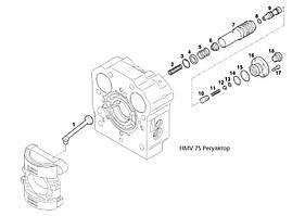 Клапан гидромотора Liebherr