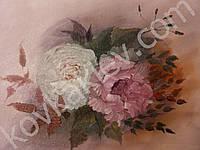 Картина №2. Розы. Масло. Холст на картоне. 35*45 см.
