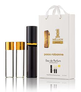 Мужской мини парфюм  PACO RABANNE 1 MILLION PRIVE 3X15 мл.
