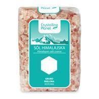 Соль гималайская розовая грубого помола, 600 г,
