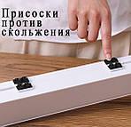 Органайзер диспенсер для пищевой пленки и фольги Wi-dispenser держатель для пленки с ножом, фото 5