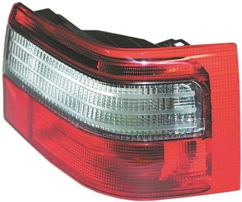 Ліхтар задній ВАЗ 2110 зовнішній правий нового зразка з білою смугою (401.3776) ОСВАР