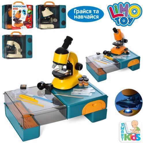 Мікроскоп дитячий SK 0029 ABCD з набором інструментів, 2 види