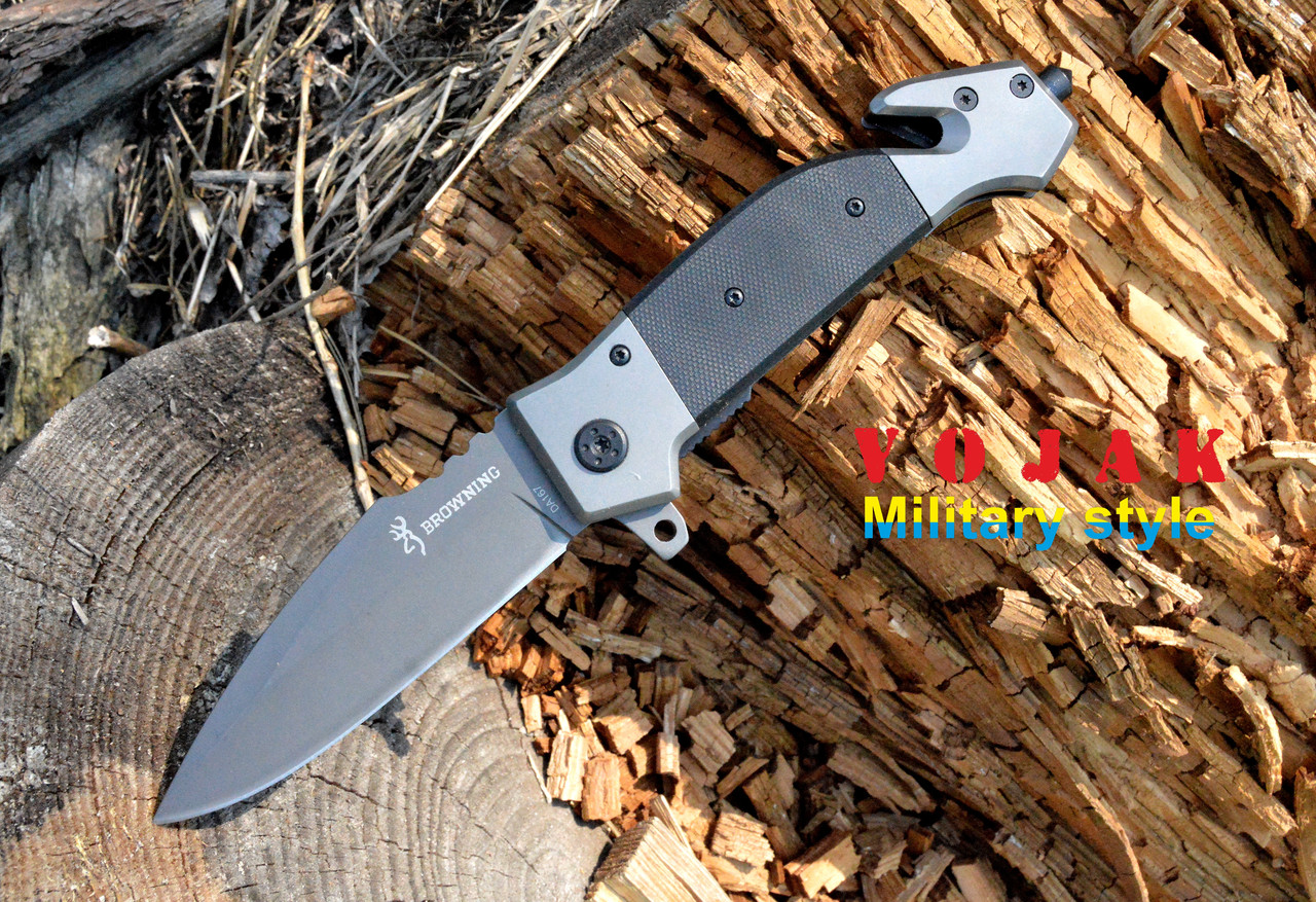 Нож складной Browning DA167, стропорез