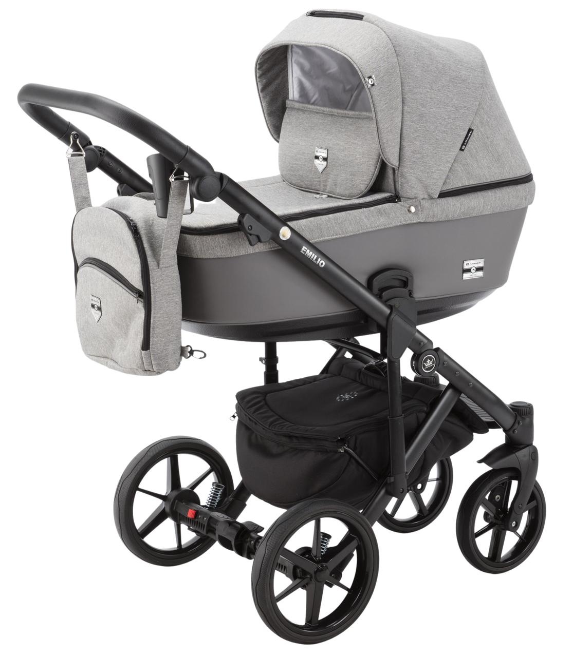 Дитяча універсальна коляска 2 в 1 Adamex Emilio EM-250