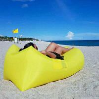 Ламзак, надувной диван, шезлонг, пляжное кресло-матрас CLOUD LOUNGER 200 х 60 см