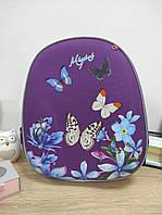 Школьный рюкзак для девочки с бабочками, фото 1