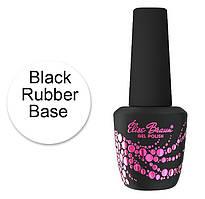 Elise Braun Black Rubber Base (15 мл)