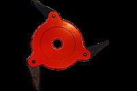 Нож сегментный 3 лезвия для мотокосы