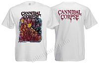 CANNIBAL CORPSE - белая - футболка Индия