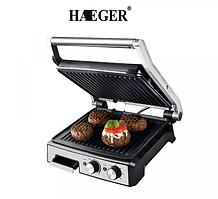 Гриль прижимний з таймером Haeger HG-2681 2800W