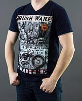 Молодежная футболка с рисунком