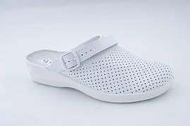 Взуття (сабо) медична, Молдова, модель Яна білі р. 36 - р. 41