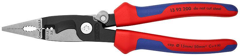 Багатофункціональні кліщі для електромонтажних робіт KNIPEX 13 92 200