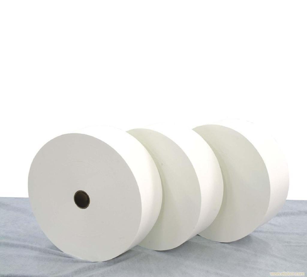 Mельтблаун (meltblown) фильтрующий материал со степенью BFE 95-99%.