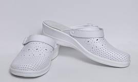 Взуття (сабо) медична, Молдова, модель Яна м'який підп ¢ яточник (пара), білі р. 36-р 37 40 41