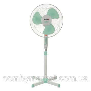 Вентилятор підлоговий ViLgrand VF401_mentol
