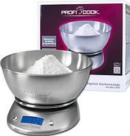 Весы кухонные цифровые ProfiCook PC-KW 1040, фото 1