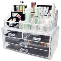 Женская шкатулка органайзер для косметики и ювелирных изделий 5332, фото 1