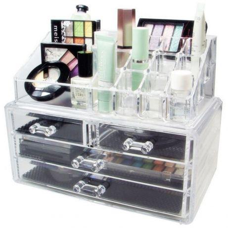 Женская шкатулка органайзер для косметики и ювелирных изделий 5332